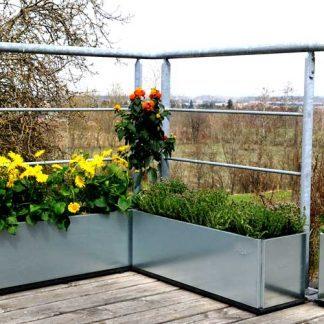 Altankasser på balkonen eller terrassen