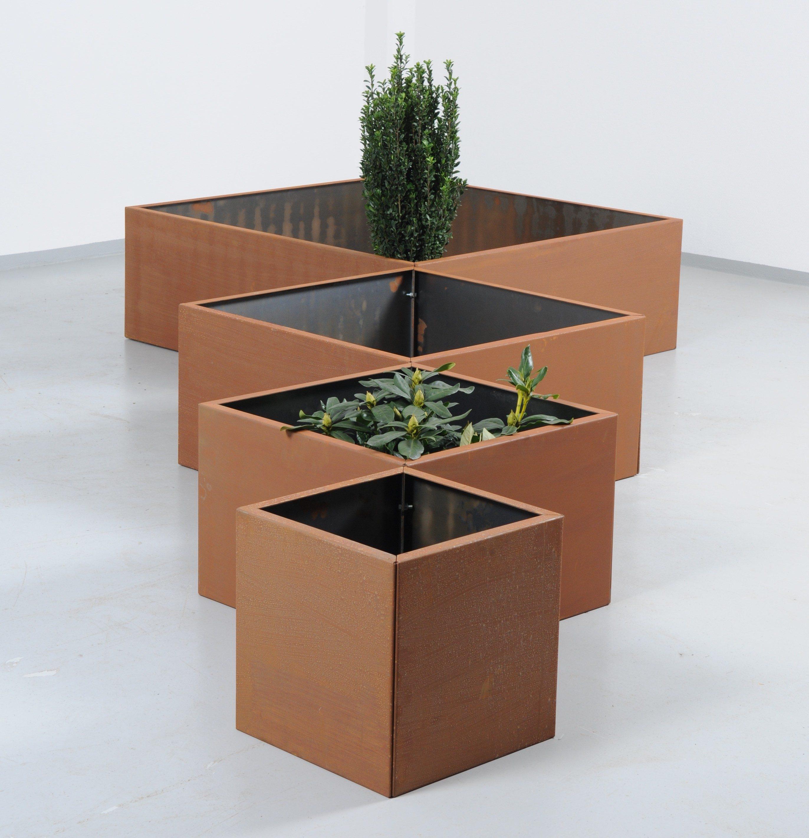 Plantekummerne fra Land sættes sammen af sider i fire forskellige længder