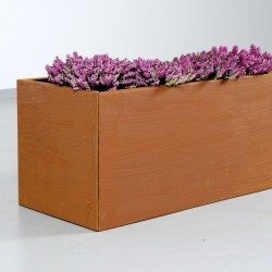 Aflang plantekasse i ekstra kraftig kvalitet med lyng