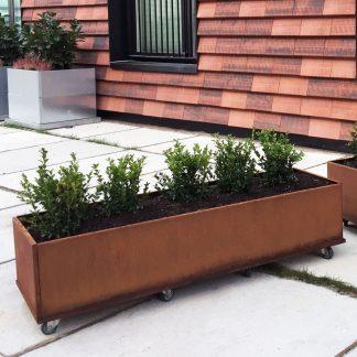 Kvadratiske og mobile plantekasser fra Land Højbede