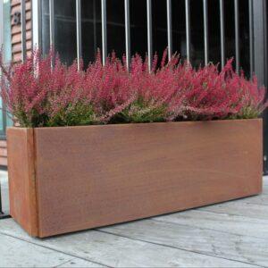 Land Classic plantekasse med skjulte fødder fra Land Højbede