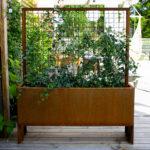 Land Modern Slim - Høj smal plantekasse med espalier