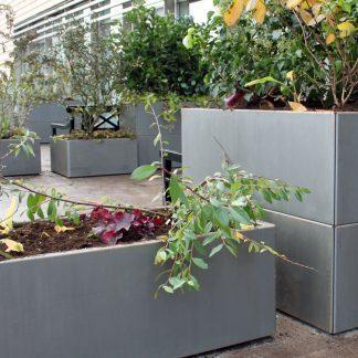 Plantekasser i kraftig kvalitet fra Land Højbede