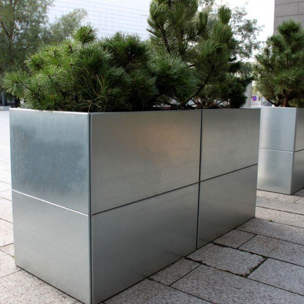 Stor robust plantekumme 60x160x80 cm fra Land Højbede