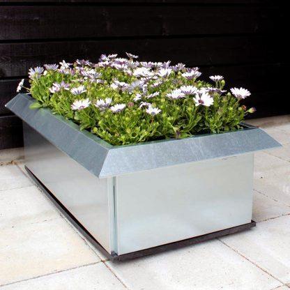 Plantekasse med sneglekant og bundplade fra Land Højbede