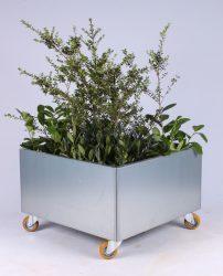 Mobil plantekumme i industrielt look