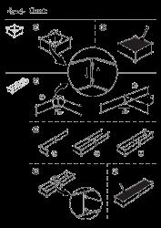 Grafisk samlevejledning til Land Classic almindelige og forlængede højbede og altankasser