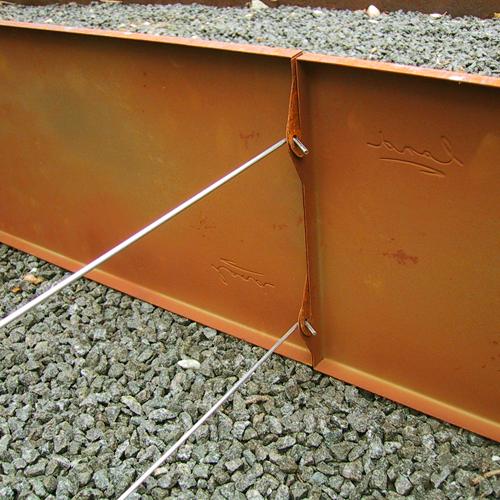 Tværstivere til ekstra lange højbede - to stk per forlængelse